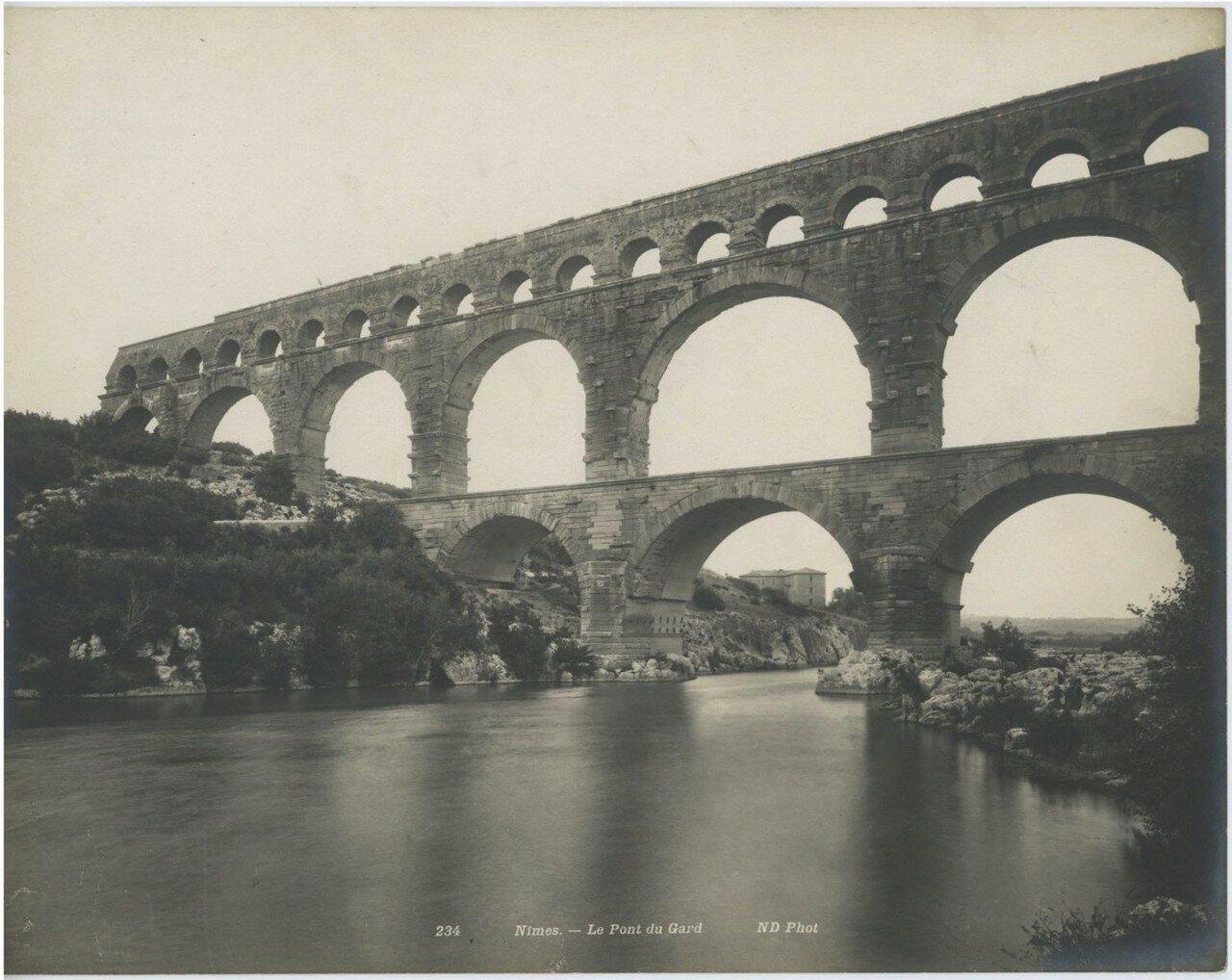 Пон-дю-Гар. 1900-е