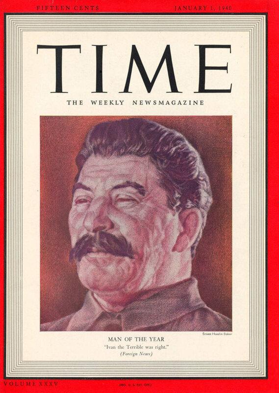 Иосиф Сталин - человек года