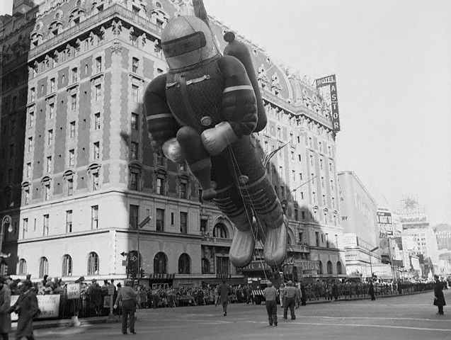 Large Balloon Prop in Macy's Thanksgiving Parade