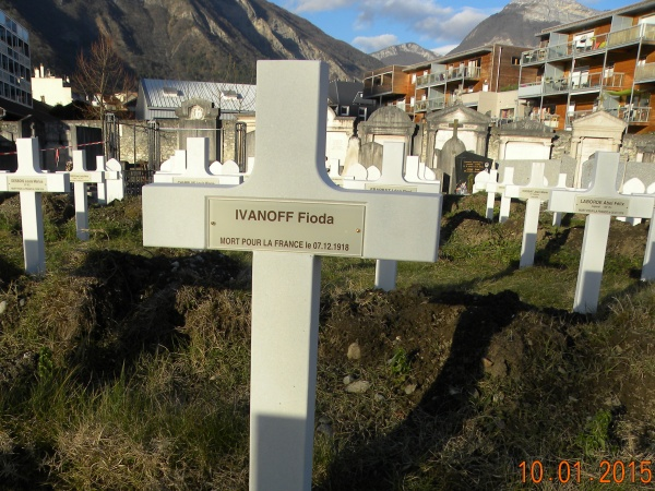 С могил русских солдат во Франции убирают национальность