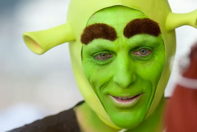 Веселье с позеленевшими лицами: свадьба в стиле «Шрек и Фиона»