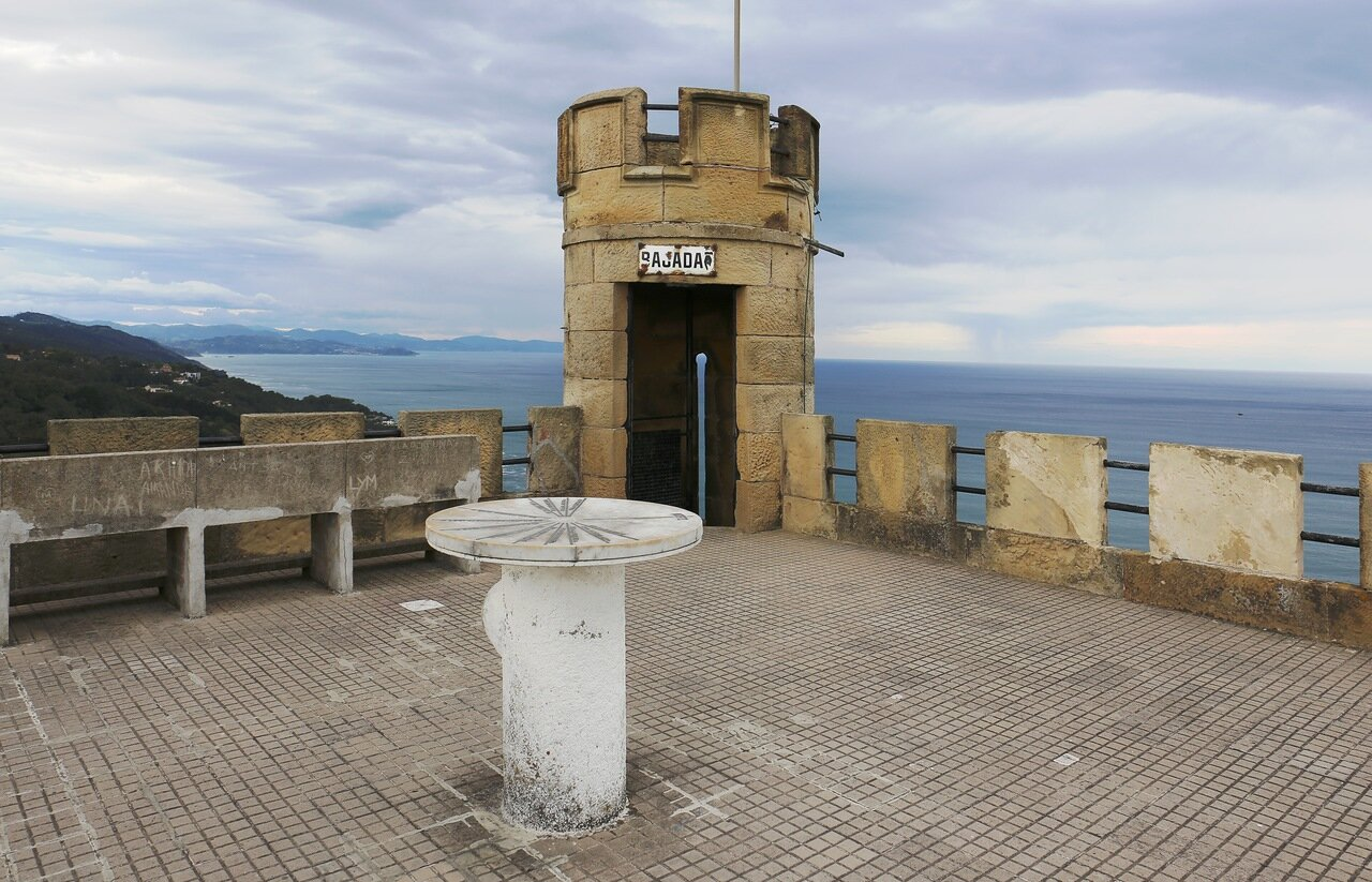 Доностия-Сан-Себаcтьян. Старый маяк на горе Игельдо (Torre de Igueldo)