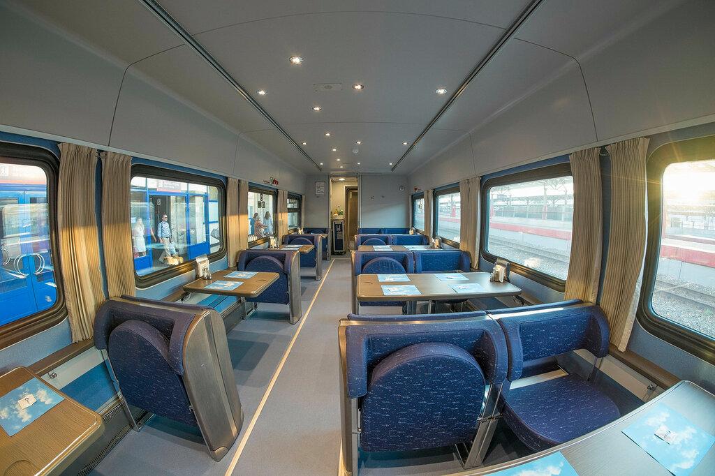 Новый поезд Стриж от РЖД