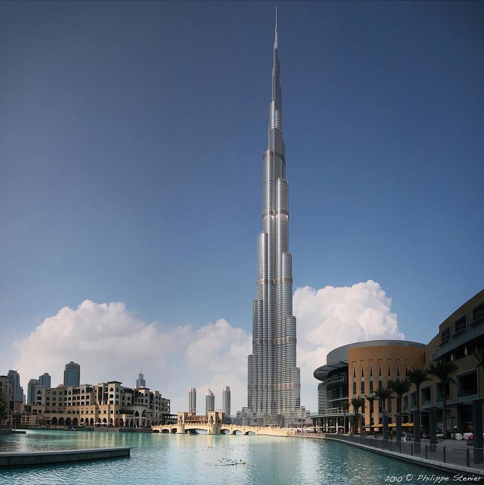 16 Фото: Philippe Stenier Стоимость : $1,500,000,000 Город : Дубай (ОАЭ) Высота : 828 метров Этажи :