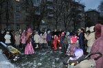 2014.12.23 Праздничные мероприятия на ул. Полоцкая