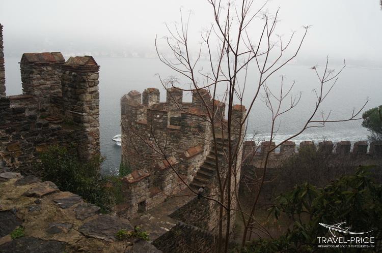 крепостные стены Стамбул