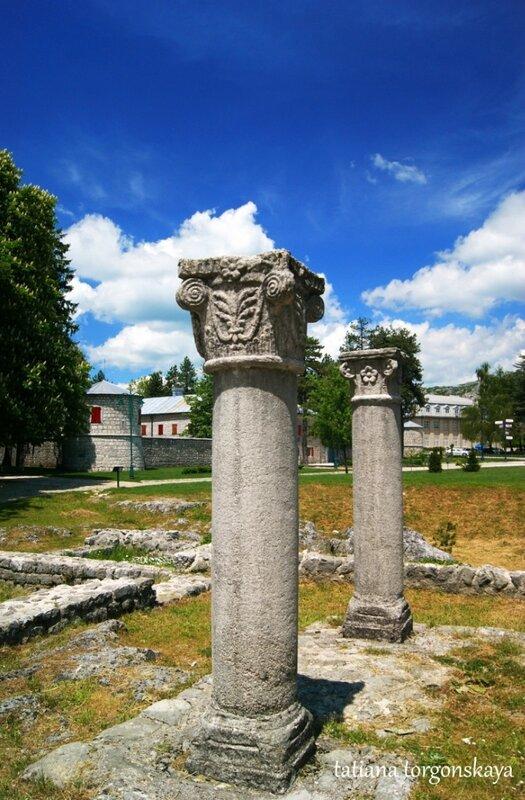 Руины первого Цетинского монастыря