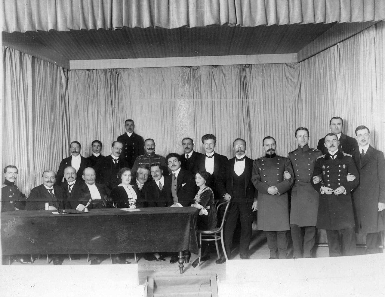20. Группа членов клуба. 1912