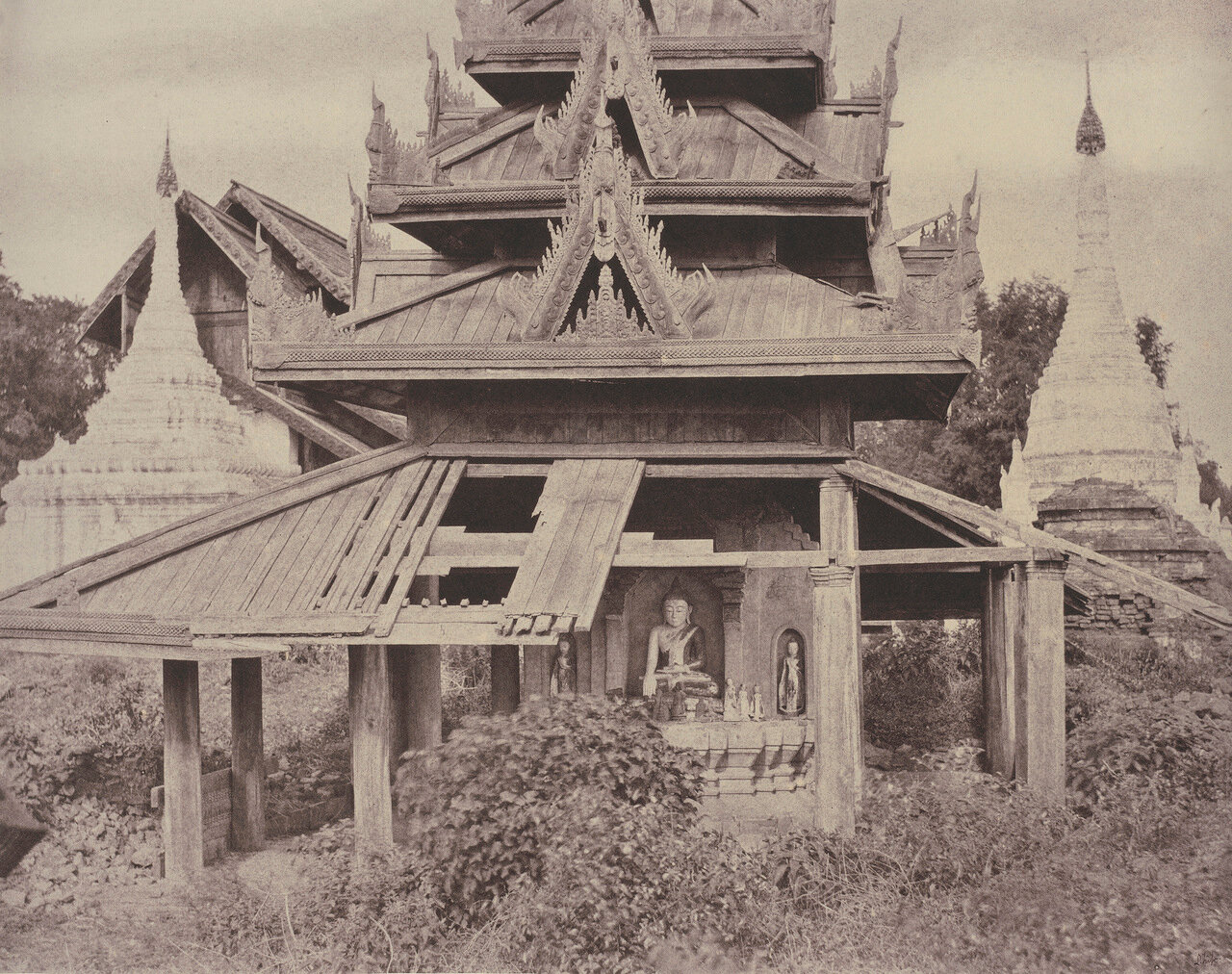 Тсаган. Развалины Тазунга