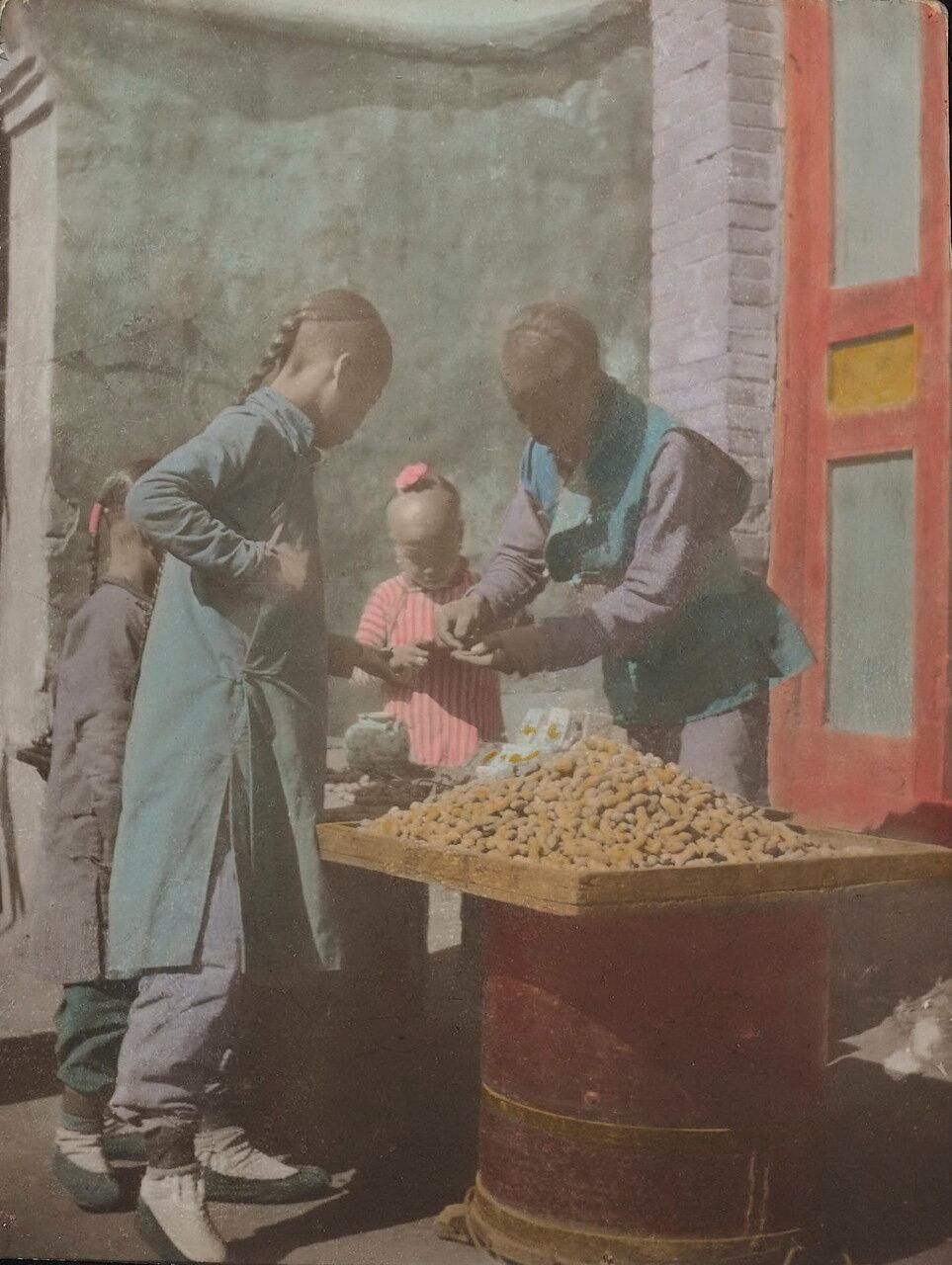 Продавец арахиса