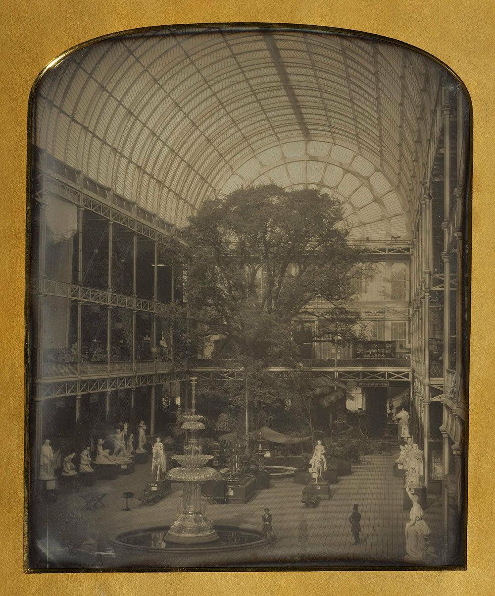 1851. Хрустальный дворец в Гайд-парке. Лондон