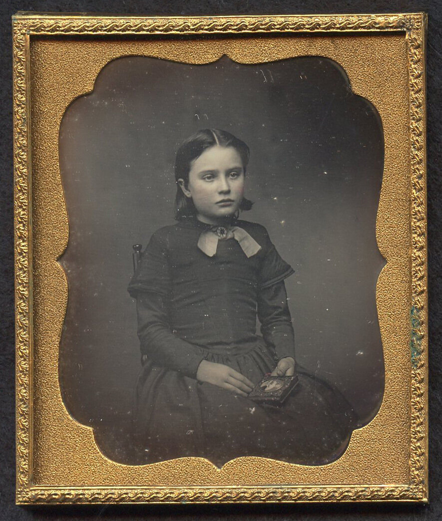 1840-е. Портрет девочки