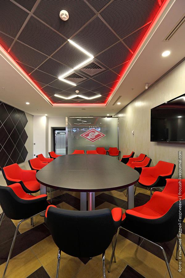 VIP-ложа фотография интерьера Москва Спартак стадион Открытие Арена