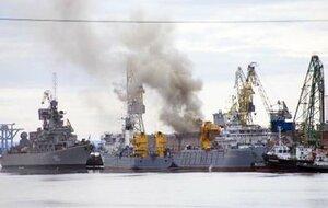 Горящую атомную подлодку в Северодвинске решили потопить