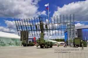 "Комплекс РЛС ""Небо-М"", Форум Армия-2015, парк Патриот"