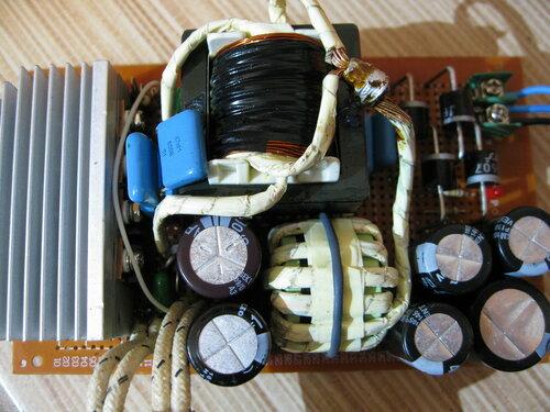 ZVS на неправильном трансформаторе