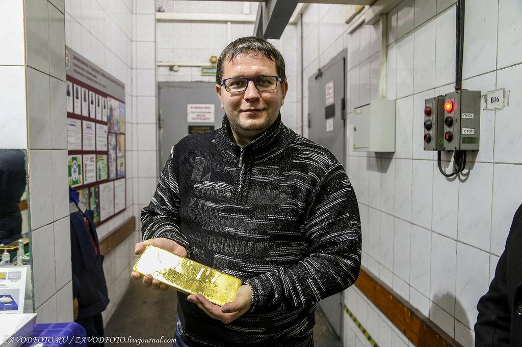 Сколько золота произвели в России в 2020 году