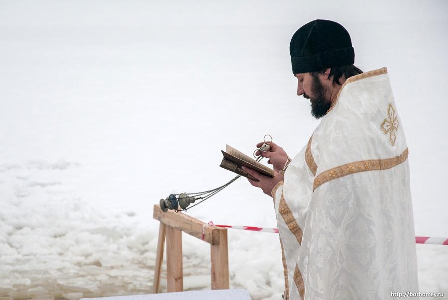 праздник крещения в Балыково
