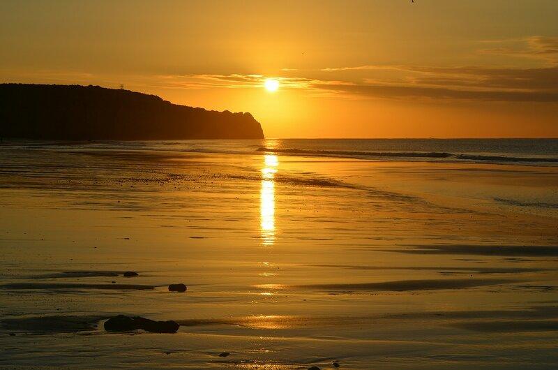 солнце плавит океан