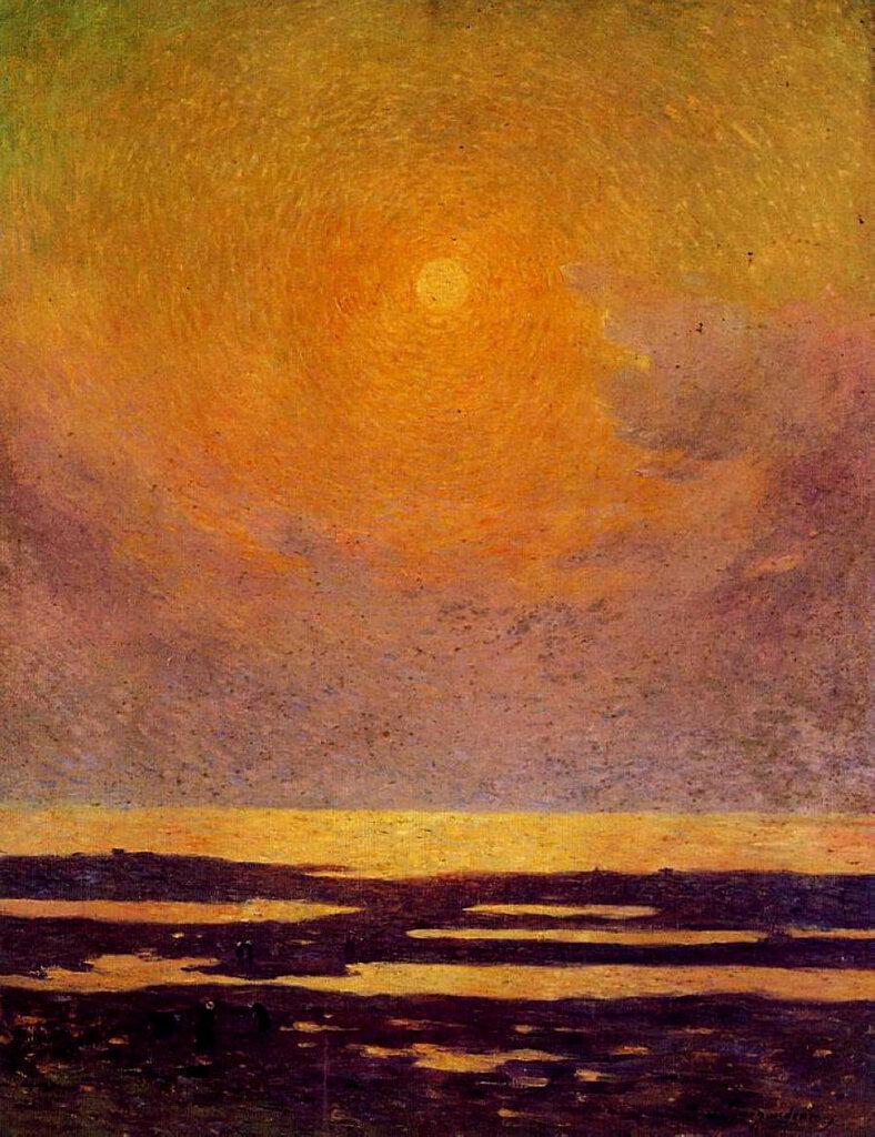 Ferdinand du Puigaudeau - Sunset on the Coast.jpeg