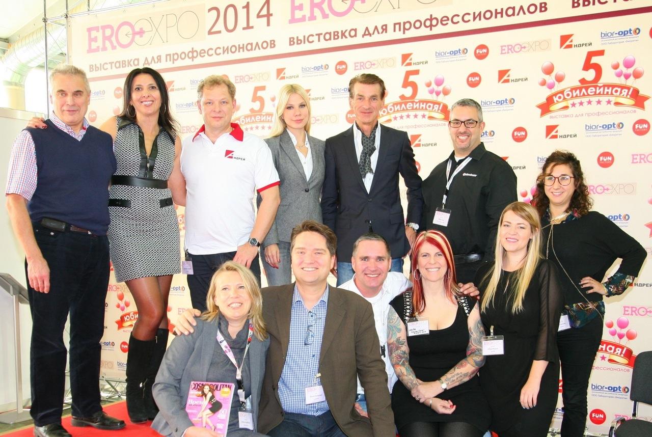 Лесли Шварцер: мой первый визит в Россию, EroExpo 2014