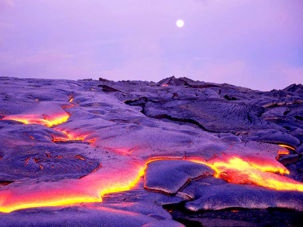 гавайские вулканы национальный парк виды
