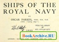 Книга Ships of the Royal Navy