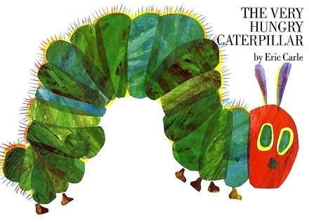Очень голодная гусеница,   Эрик Карл (1969)