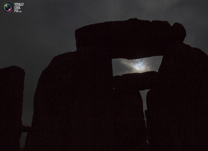 Солнечное затмение с разных ракурсов