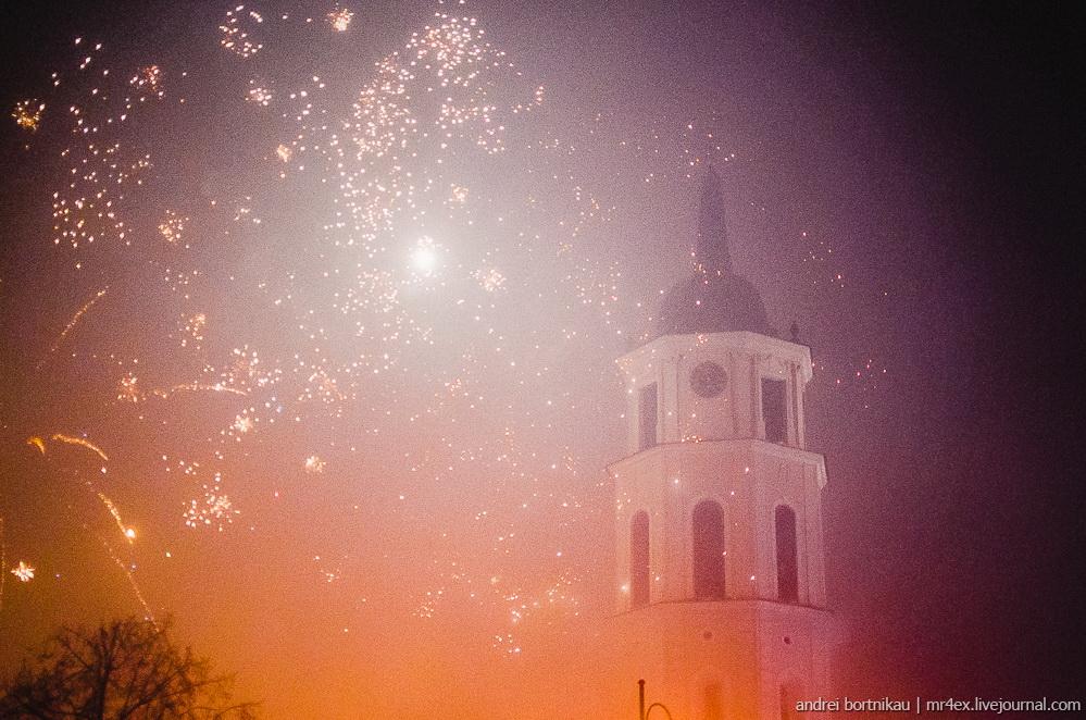 Vilnius, Вильнюс, Новый год в Вильнюсе