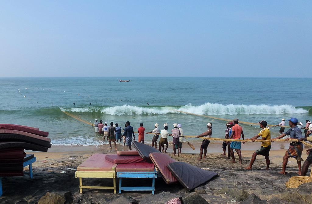 Фото 13. Штат Керала. Рыбаки в Индии