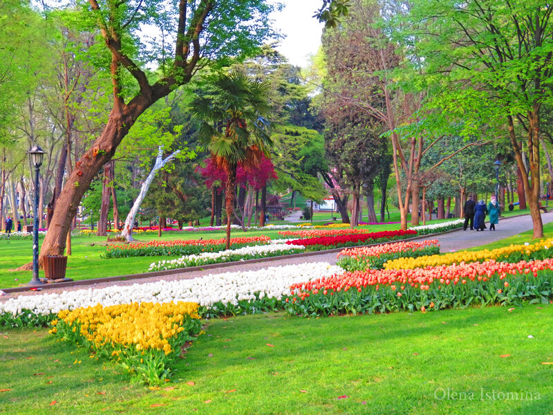 Стамбул. Парк Гюльхане