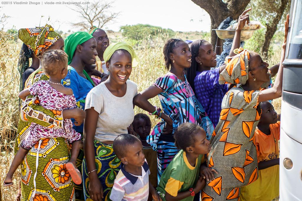 Сенегальская деревня