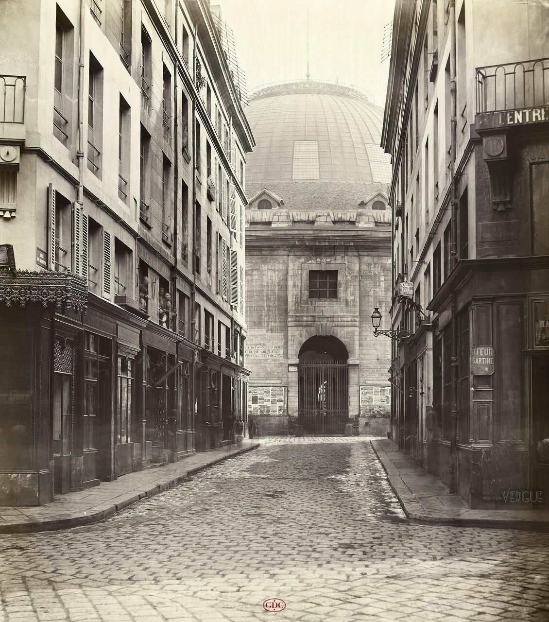 Рю де Сартин. 1868