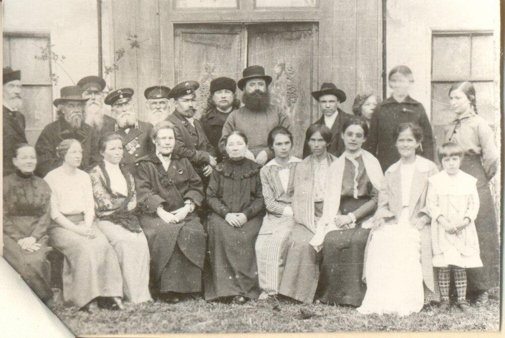 1913. Интеллигенция с.Буйское