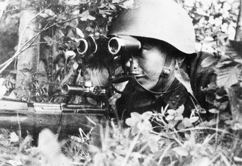 Снайпер Цырендаши Доржиев, убей немца, смерть немецким оккупантам
