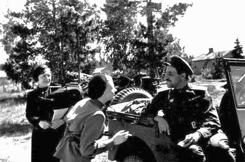 Константин Симонов, стихи о войне, стихи о любви, Валентина Серова