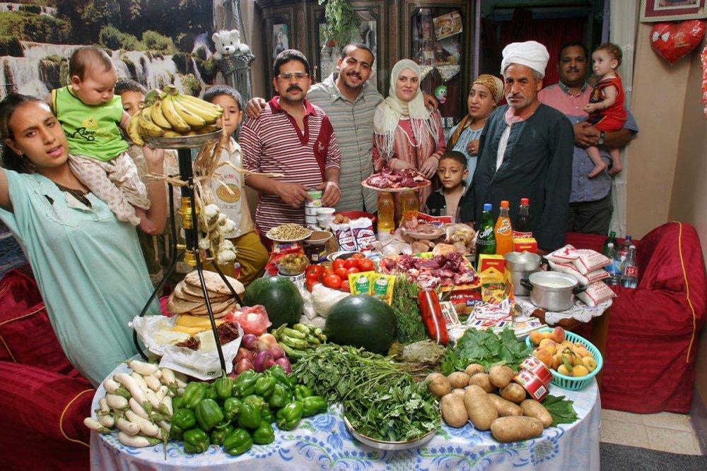 15 Египетская семья