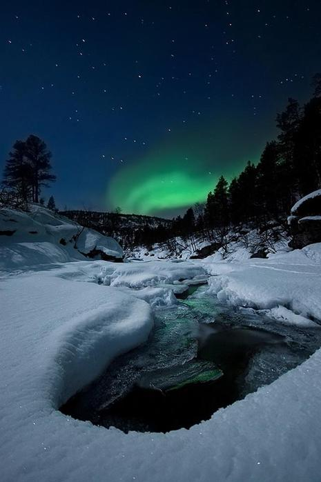Красивые фотографии полярного сияния 0 10d603 a52e43f1 orig
