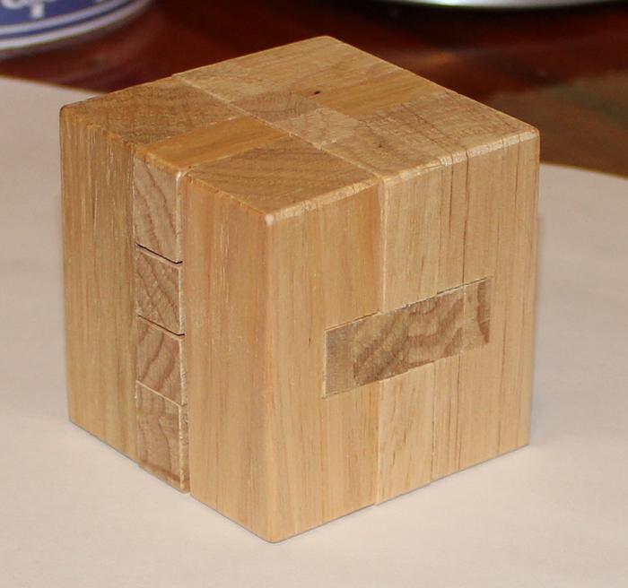 Деревянная головоломка Skill Up Куб