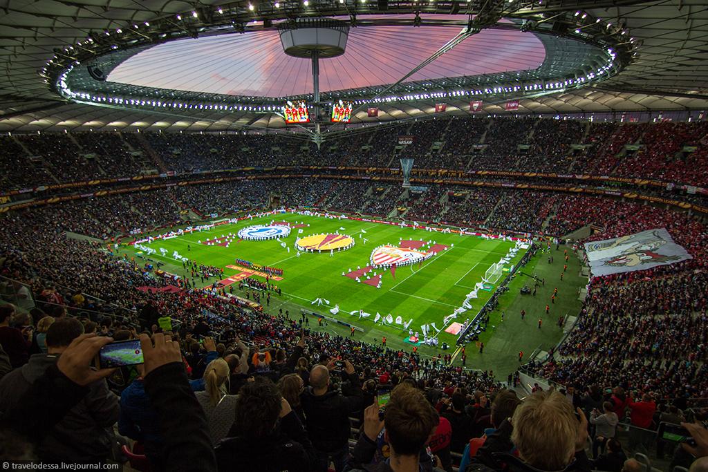 Финал Лиги Европы в Варшаве. Как это было