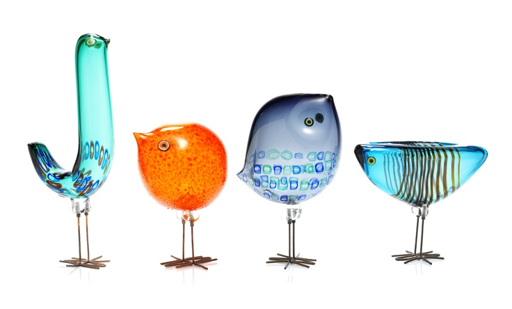 Муранское стекло. Дизайнер Alessandro Pianon и коллекция маленьких Pulcini