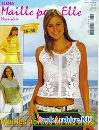 Журнал Elena maille pour elle №4 2005.