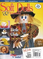 Журнал Soft dolls & animals  2001/Nov