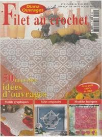 Журнал Журнал Diana Ouvrages special №14 2003 Filet au Crochet