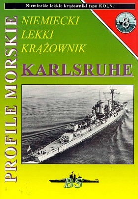Книга Niemiecki lekki krazownik Karlsruhe