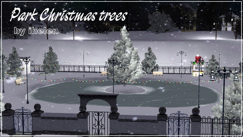 Park Christmas trees by ihelen