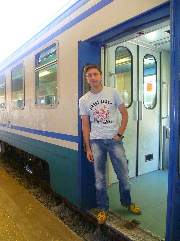 Поезд в Италии (Train in Italy)