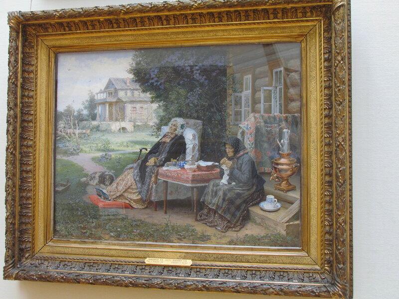 Максимов В.М. Все в прошлом. 1889.