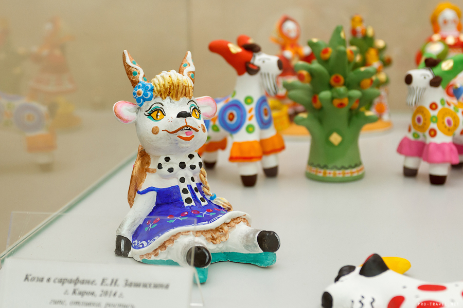 Выставка под символом года - Козы
